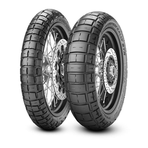 Motorcycle Tyres - Pirelli Scorpion Rally STR (Sizes Available- 110/70-R17, 120/70 R19 150/60 R17  & 170/60 R17)