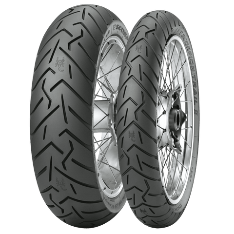 Motorcycle Tyres - Pirelli Scorpion Trail II Tyre's (Sizes Available- 120/70 ZR17, 190/55 ZR17)