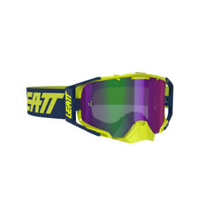 Leatt Velocity 6.5 Goggles (Iriz Ink/Lime Purple 30%)
