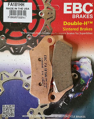 Open image in slideshow, EBC Brake Pads for RE Himalayan