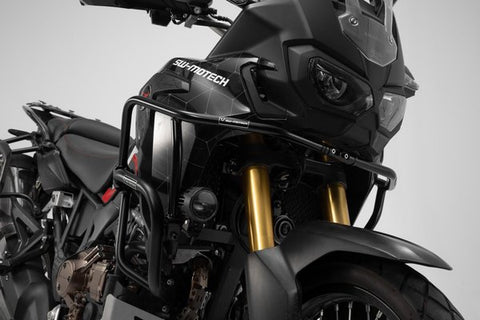 SW-Motech Upper Crashbars for Honda Africa Twin – Black