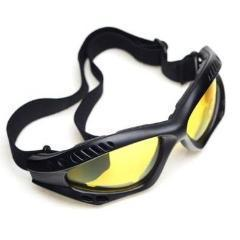 Sunglasses - Vkool Falat-Big Double Lens (Color Available In Black, Blue, Brown, Grey & Trans, Yellow)