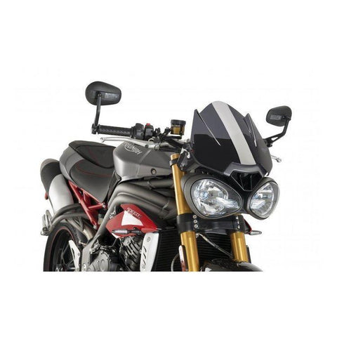 Wind Screen - Puig Naked New Generation Windscreen Triumph Speed Triple R / S (2014-2017)