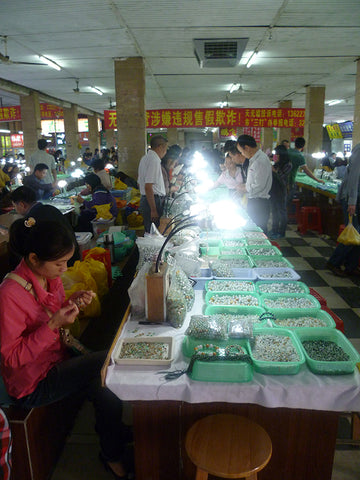 Jade City China parts for sterling silver jewelry production