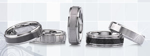 Tungsten Carbide Wedding Rings & Bands