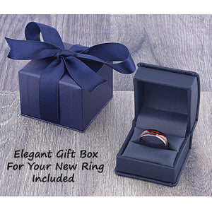 Ceramic Traditional Wedding Ring 12mm - CER078