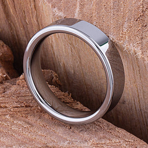 Tungsten Promise Ring High Polish 6mm - TCR060 traditional men's wedding or engagement band or promise ring for boyfriend