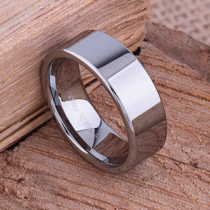 Tungsten Men's Wedding Ring 8mm - TCR038 traditional engagement or anniversary ring for husband Steven G Designs Ltd