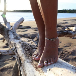 Bohemian Starfish Anklet