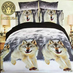 Snow Wolf Bedding Set