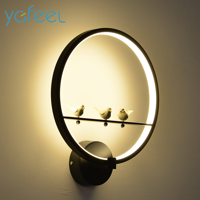 Bird Creative Wall Lamp