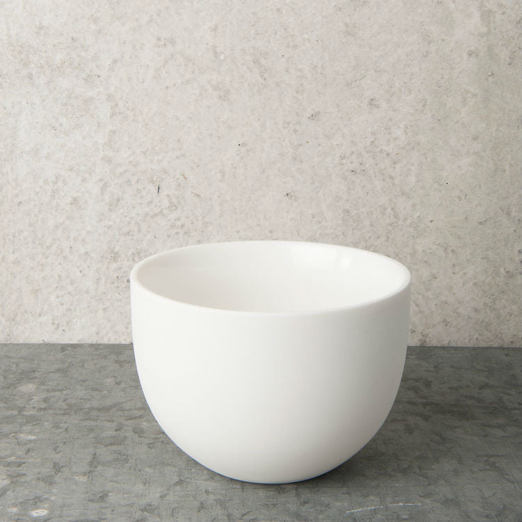 Bowl ubran clay small - white