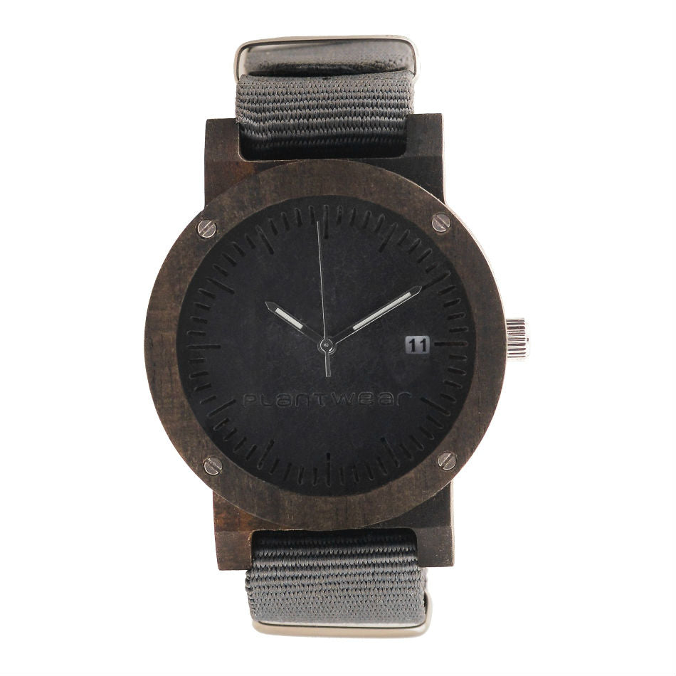 Horloge - Raw Ebony