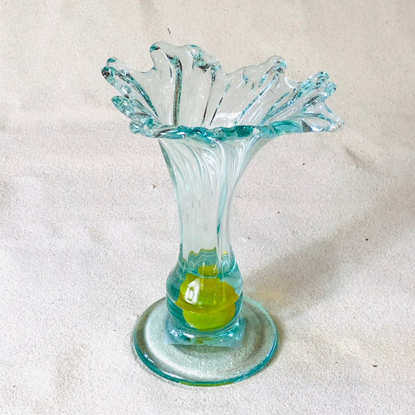 Blown glass - vase (25cm lily)