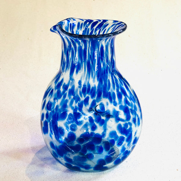 Blown glass - jug (20cm pinched) ~ 725ml