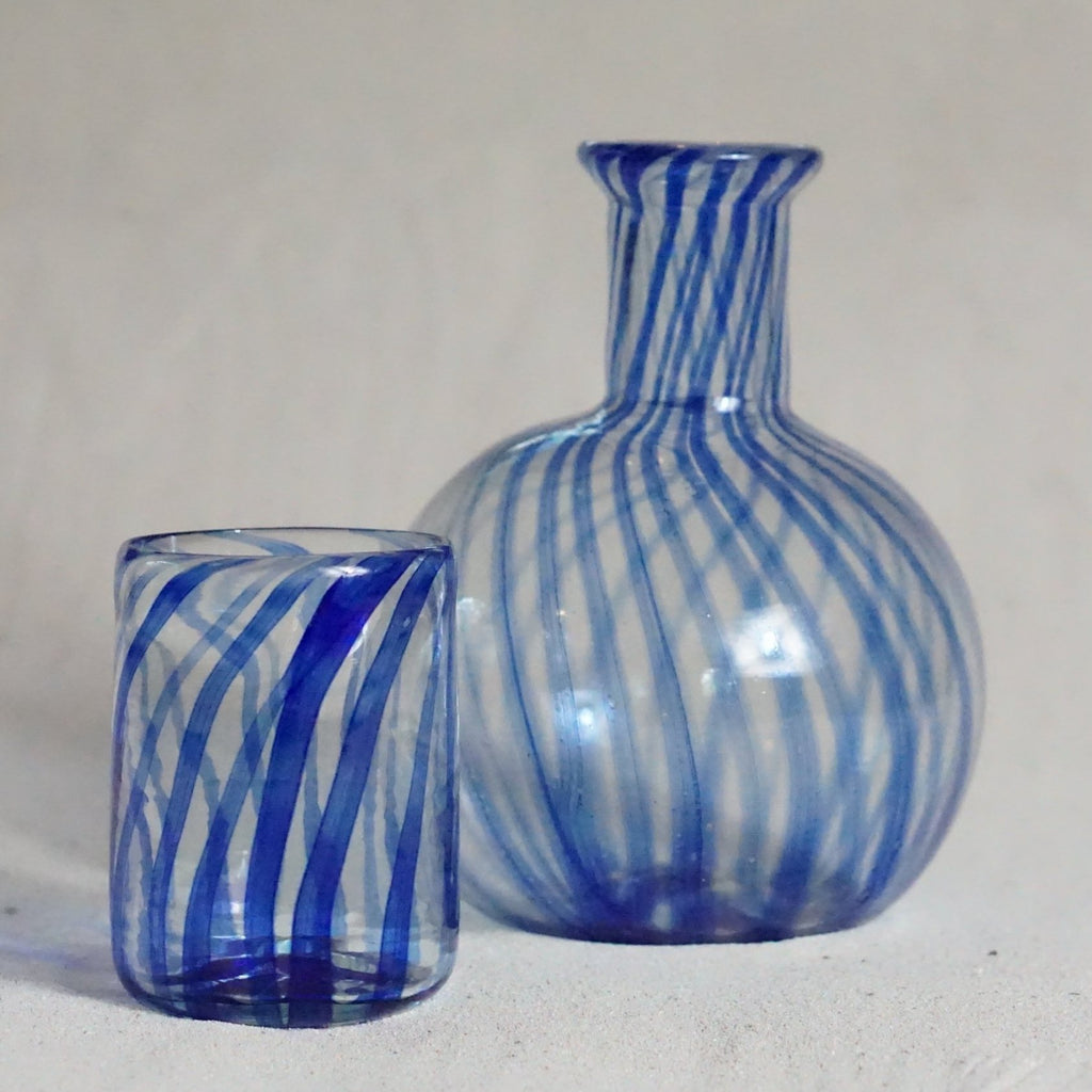 Blown glass - decanter