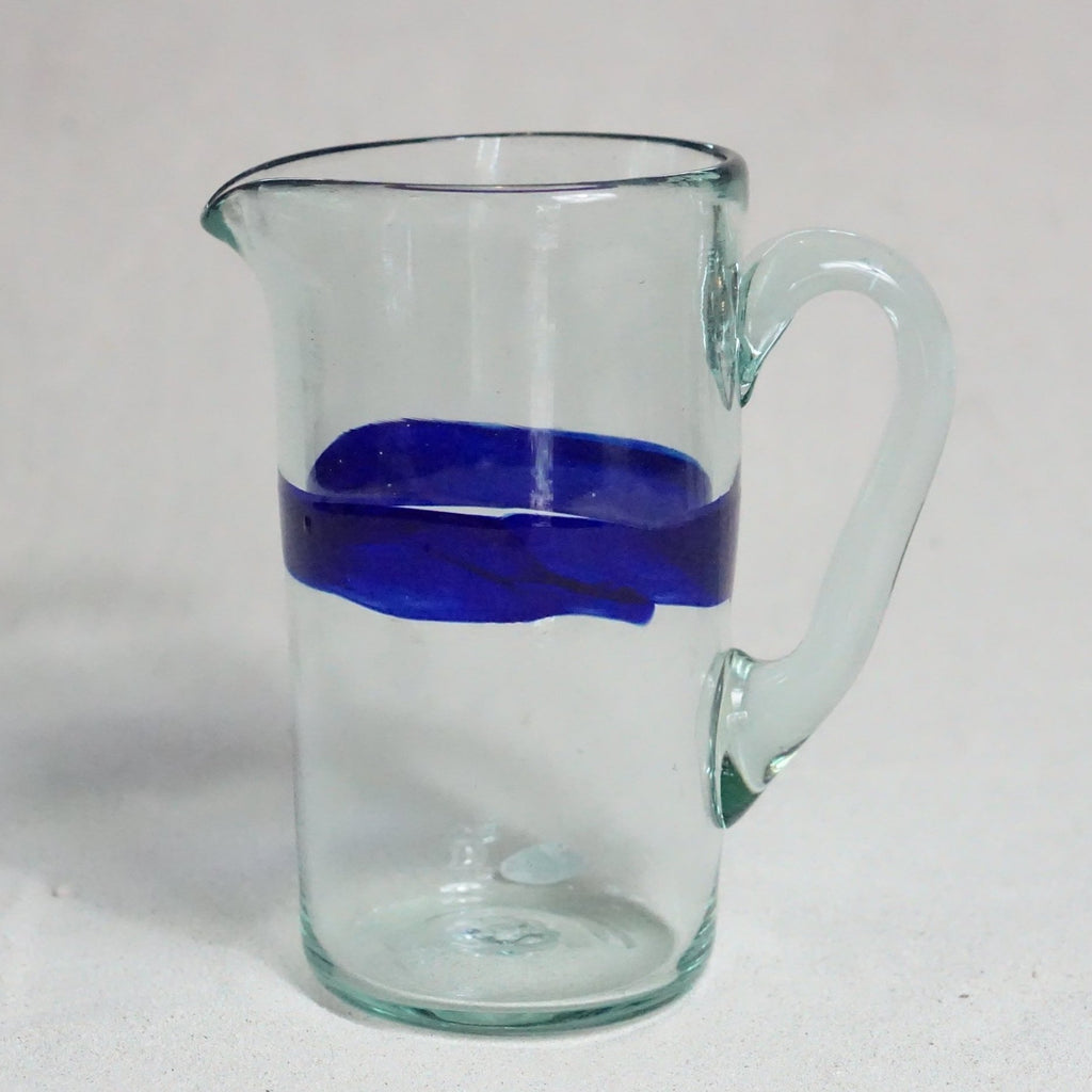 Blown glass - jug (straight)