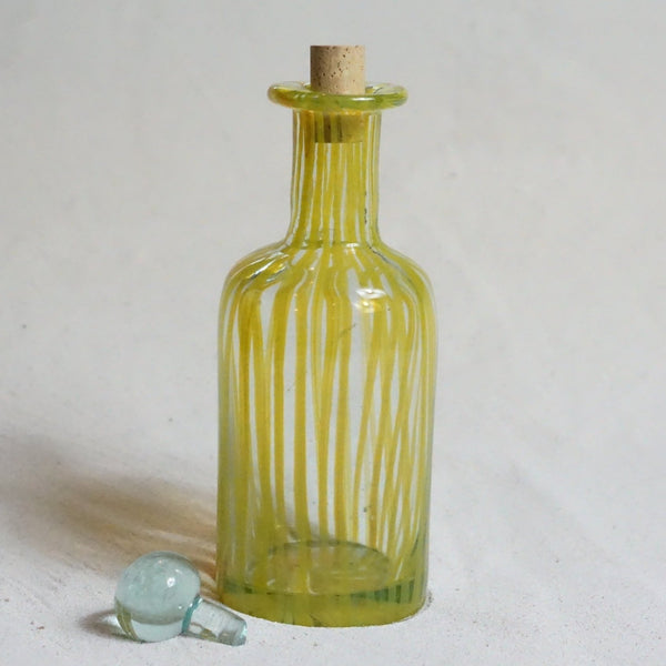 Blown glass - bottle (straight)