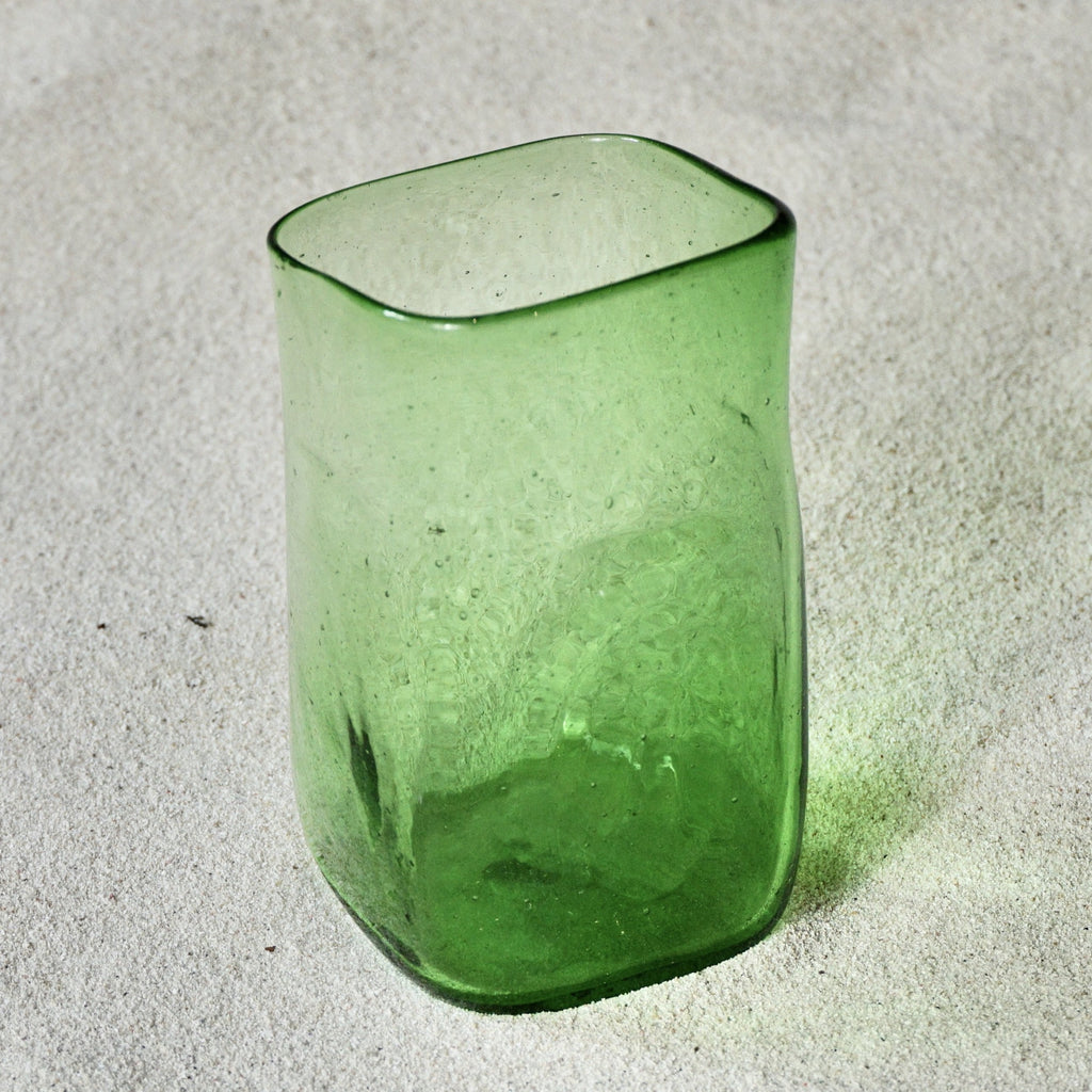 Blown glass - tumbler (straight square) ~ 200ml