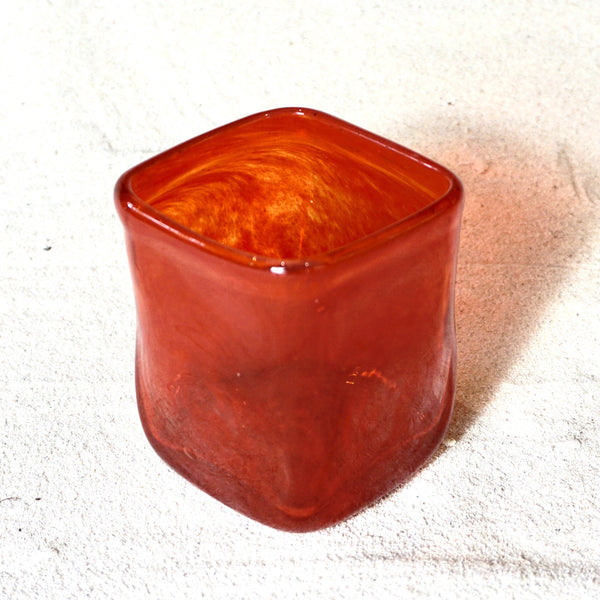 Blown glass - Tumbler (straight square)