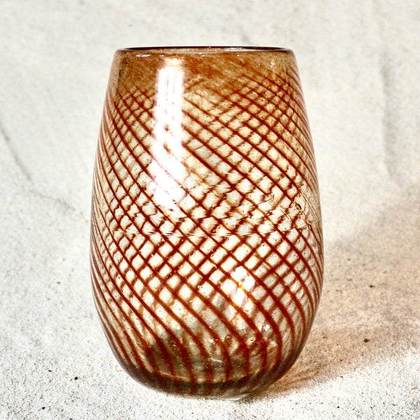 Blown glass - tumbler (tall round) ~ 600ml