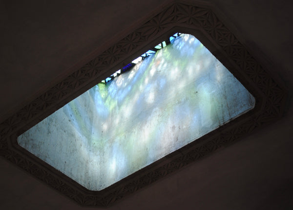 Dalle de Verre skylight 'Squeaks' panel 1.2m x 0.8m