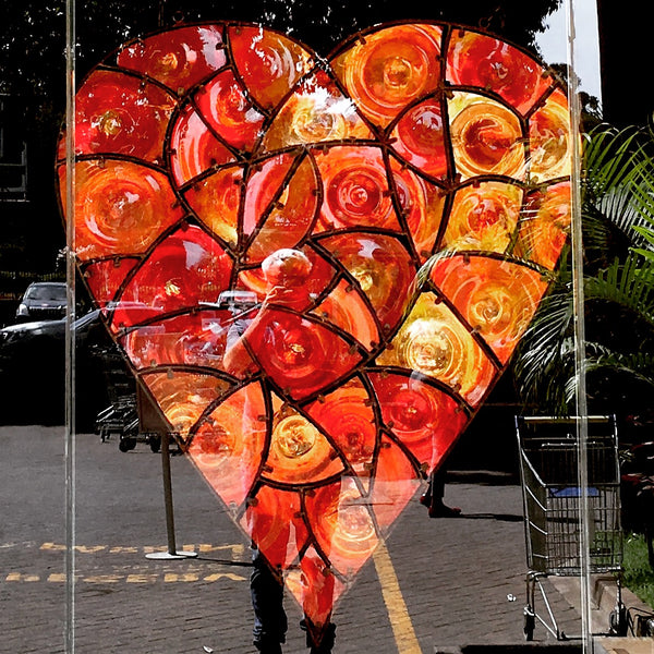 Funky Fencing 'Lurve' 1.8m x 1m