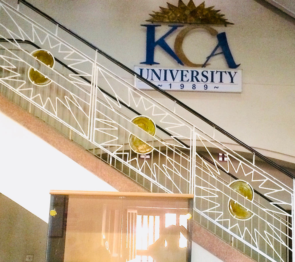 Funky Fencing balustrade 'KCA' 9m x 0.8m