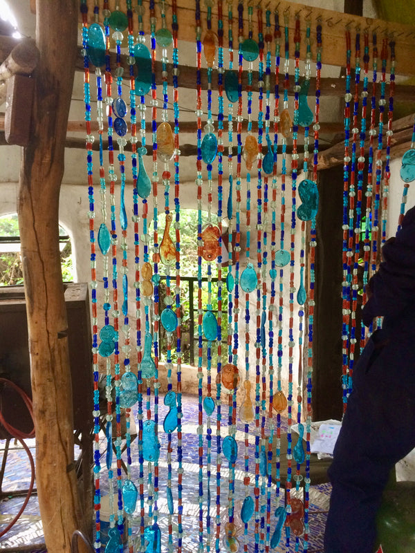 Bead curtain 1.8m x 1m