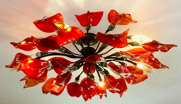 Chandelier 'Anthurium' leaves