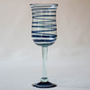 Blown glass - goblet (tall wine)