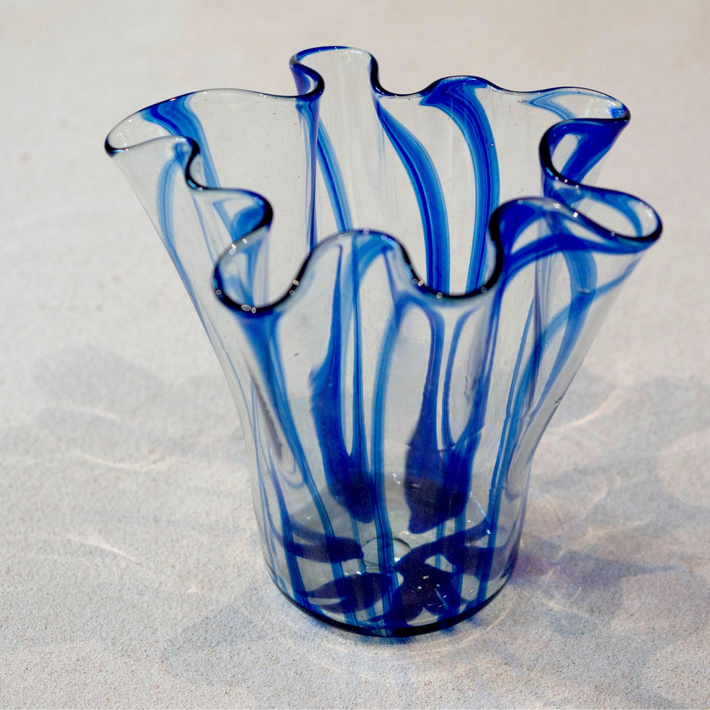 Blown glass -vase (floppy)