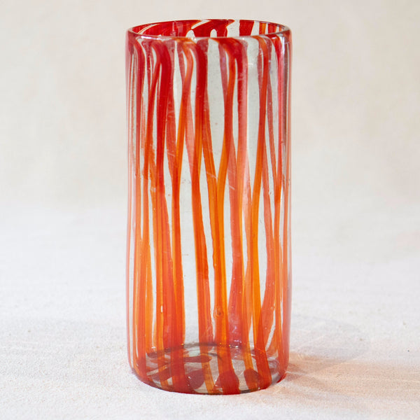 Blown glass - vase (25cm cylinder)