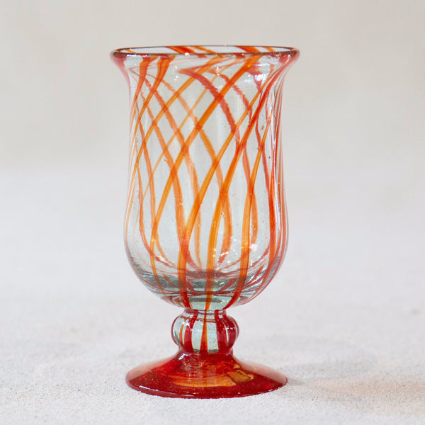 Blown glass - goblet (water)