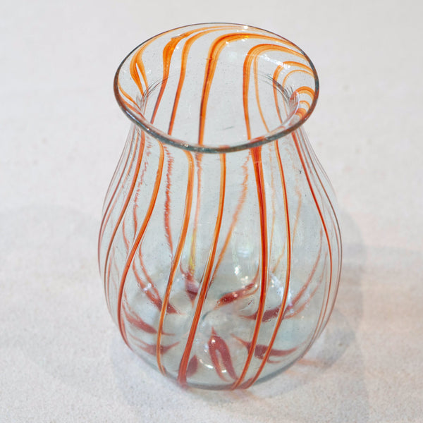 Blown glass - Vase (20cm pot)