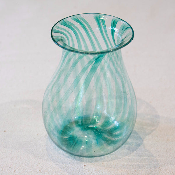 Blown glass - Vase (25cm pot)
