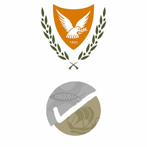 Cyprus Assay trademarks and sterling silver logo certificates