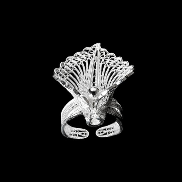 handmade silver jewelry from Cyprus - filigree ring jewellery