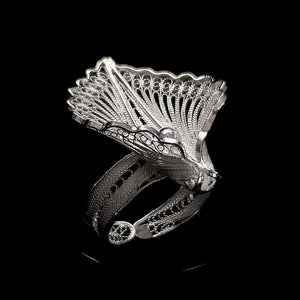"Handmade Ring ""Virgin Lotus """