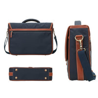"ECOSUSI Briefcase 14.7"" Laptop Messenger Bag Classic Satchel - Dark Blue (L009058)"