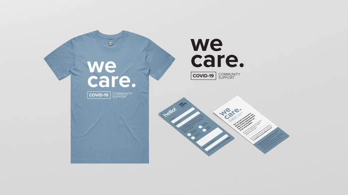 We Care - Community Support Tee