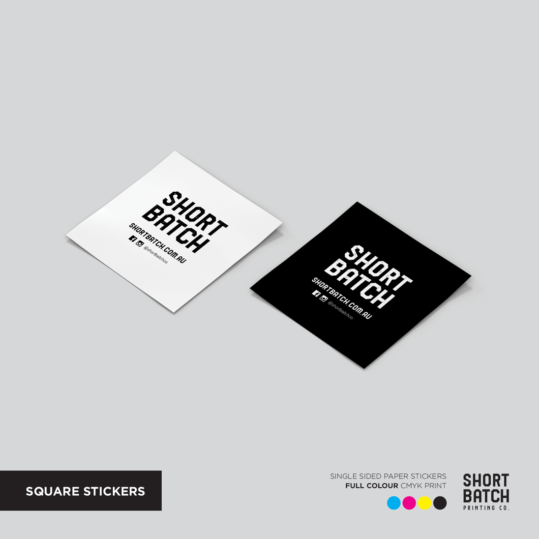 Square Stickers