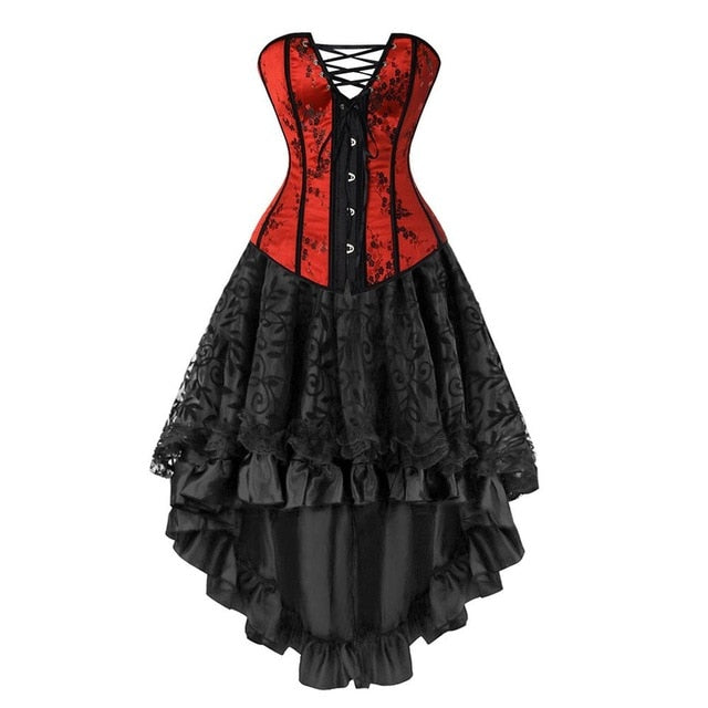 Ruby Corset and Skirt