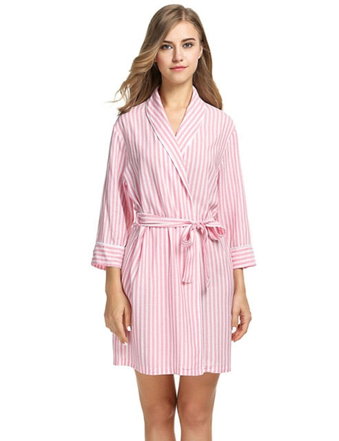 Stripe Robe