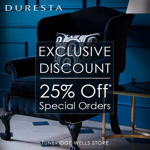 Exclusive 25% Off* Duresta