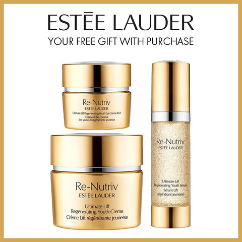 Your Free* Re-Nutriv Gift from Estée Lauder