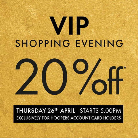 VIP Shopping Evening
