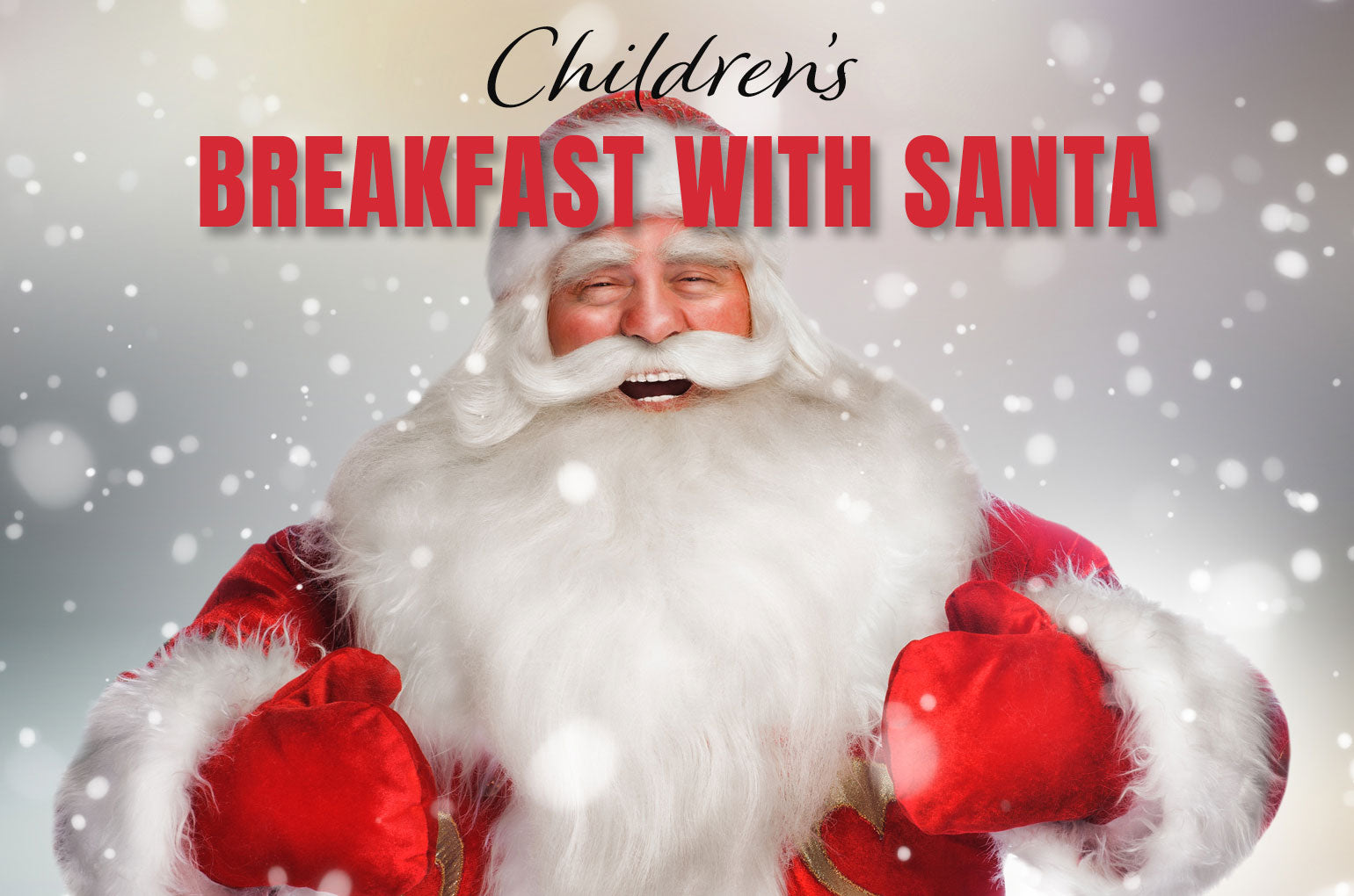 Children's Breakfast with Santa at Hoopers