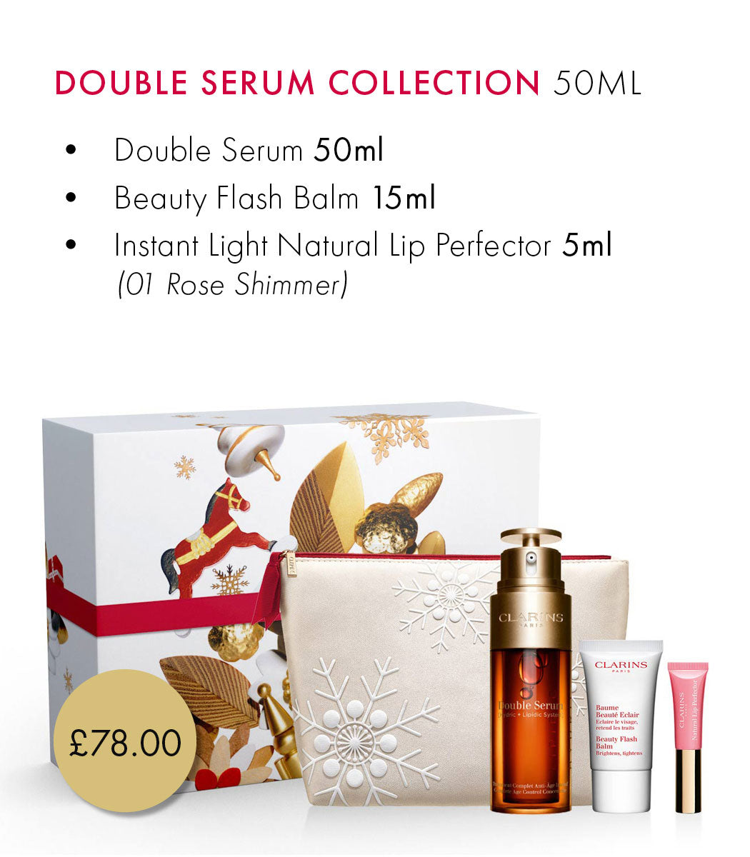 Clarins Double Serum Coffret