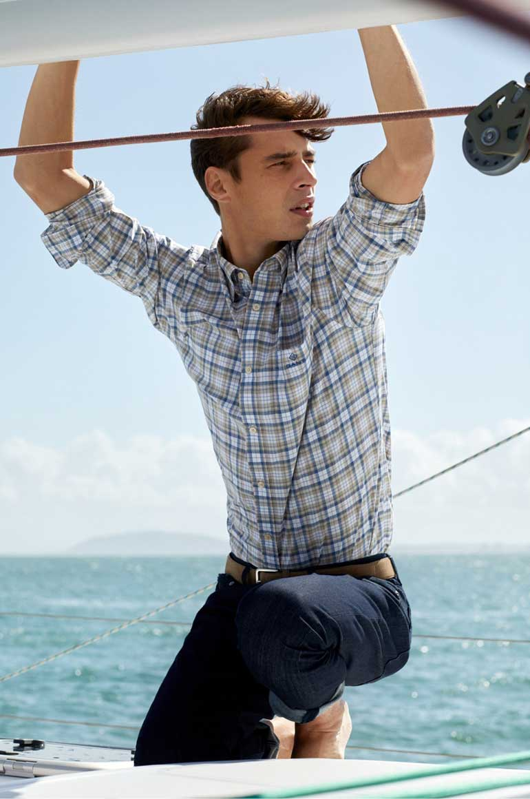 GANT is inspired by its own heritage